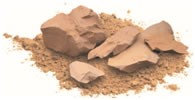 Clay Terrapak Montmorillonite Mud Packs (External Use) 1 pound bag