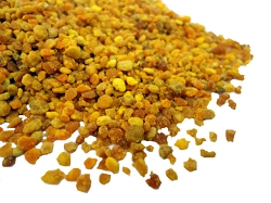 Bee Pollen granules 1/2 pound (would make 391 capsules of 580 mg each)